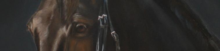 Pferde Porträts in Öl und Skulpturen von Künstlerin Mary Sand