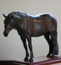 Pferd Skulptur von Inhaber beauftragt und als Limited Edition.